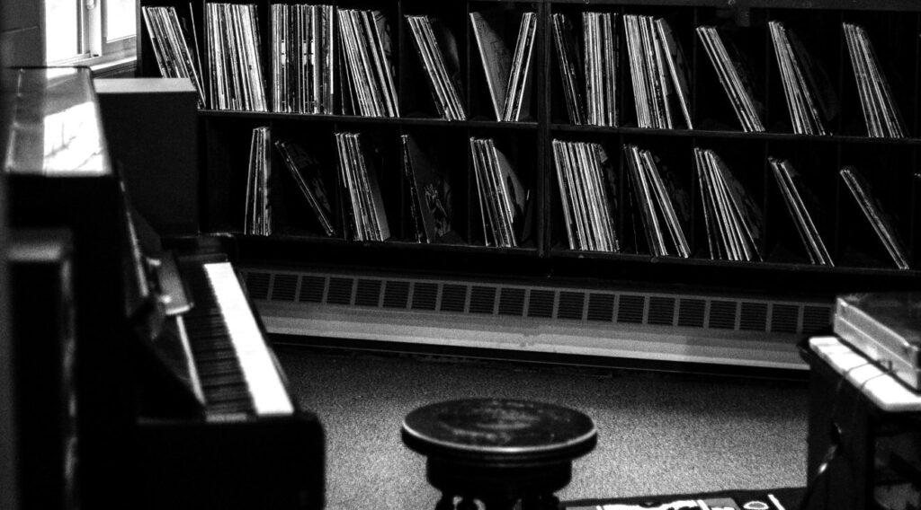 ピアノとレコード